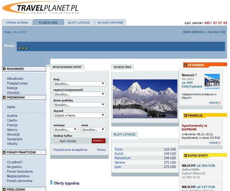 TravelPlanet2001