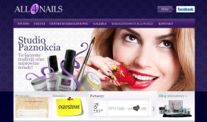 kolory w ecommerce fioletowy all4nails